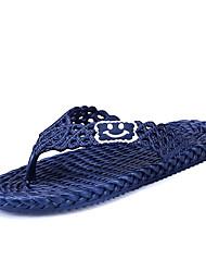 Men's Slippers & Flip-Flops Summer Light Soles Microfibre Leather Outdoor Casual Flat Heel