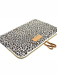 for Touch Bar Macbook Pro 13.3/15.4 Macbook Air 11.6/13.3 Macbook Pro 13.3/15.4 Leopard Print Design Shockproof Laptop Sleeve Bag