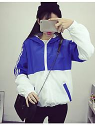 letras harajuku impresso solto bf com capuz casaca casaco curto parágrafo
