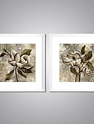 Framed Canvas Prints Abstract Flower Painting Picture Print on Canvas Contemporary Wall Art for Home Decoration