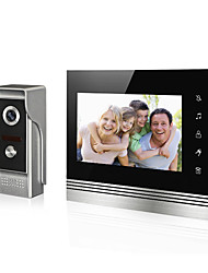7 inch  LCD Screen Video Doorbell Video Door Phone for Intercome Door Entry System