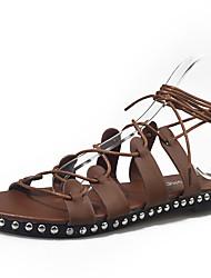 Women's Heels Spring Summer Club Shoes Novelty Ankle Strap Fleece Spandex Fabric Wedding Dress Casual Chunky Heel Rivet Buckle