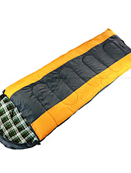 Schlafsack Rechteckiger Schlafsack Einzelbett(150 x 200 cm) 10 Hohlbaumwolle 210X75 Wandern Camping Reisen Transportabel