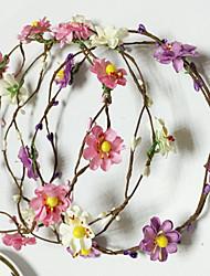 Пластик Искусственная кожа Заставка-Свадьба Особые случаи На каждый день на открытом воздухе Цветы Венки 5 предметов