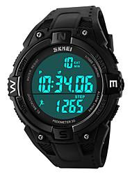 SKMEI 1141 la femme de montres hommes montagne montre de sport en plein air important double escalade imperméable mâle montre électronique