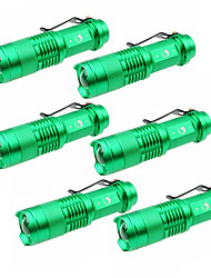 UKing ZQ-X965GX6 1500LM Cree XPE SK68 Zoomable Flashlight