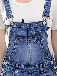Sign jianling denim overalls female skirt new spring and summer 2017
