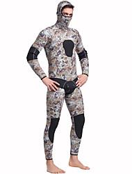 SBART® Homens 5mm Roupas de mergulho Térmico/Quente Confortável Neoprene Fato de Mergulho Manga Comprida Roupas de Mergulho-Mergulho