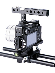 YELANGU Aluminum Camera Cage C6 DSLR Bracket Support A6300 Special Designed Video Stabilizer Support A6500