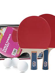 Ping Pang/Table Tennis Rackets Ping Pang/Table Tennis Ball Ping Pang Cork Long Handle Pimples2 Rackets 3 Table Tennis Balls 1 Table