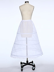 Slips A-Line Slip Tea-Length 1 Taffeta White Black Red