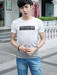 Signe gradient homme à manches courtes t-shirt impression 2017 été nouveaux hommes&# T-shirt à manches courtes