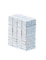 5.4*5.4*1.1mm Square Neodymium NdFeB Magnet (100PCS) Silver