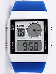 Casal Relógio de Moda Relogio digital Quartzo Digital Lega Banda Preta Branco Azul Vermelho Verde