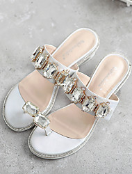 2017 flat slippers with rhinestones with sequined short yardage 35-39