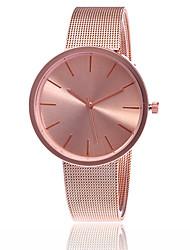 Жен. Нарядные часы Модные часы Японский Кварцевый сплав Группа С подвесками Повседневная Элегантные часы минималист Серебристый металл