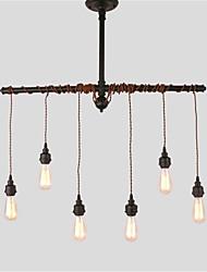 Lámparas Colgantes ,  Rústico/Campestre Cosecha Retro Pintura Característica for Mini Estilo MetalSala de estar Comedor Cocina Vestíbulo