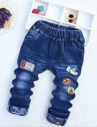 Boys' Casual/Daily Solid Jeans-Cotton Spring