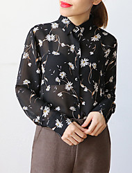Women's Holiday Simple Spring Shirt,Solid Off Shoulder Long Sleeve Rayon Sheer