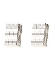 10*10*2mm Square Neodymium NdFeB Magnet (200PCS) Silver
