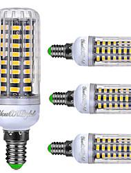 YouOKLight 4PCS E14 6W AC240V 72*5733SMD 480LM LED Intelligent IC Control Cole Dimmable LED Corn Bulb