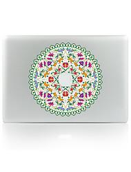 For MacBook Air 11 13/Pro13 15/Pro With Retina13 15/MacBook12 The Circle Wreath Decorative Skin Sticker Glow in The Dark