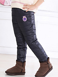 Girls' Casual/Daily Solid Pants Winter Fall