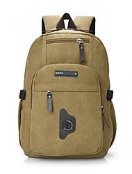 Estilo causal bolsa de lona mochila grande do curso (mais cores)