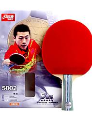 5 Estrelas Tabela raquetes de tênis Ping Pang Madeira Cabo Comprido Espinhas Interior Espetáculo Praticar Esportes de Lazer-#