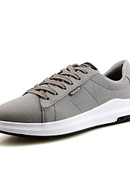 Men's Sneakers Spring Summer Fall Winter Comfort PU Outdoor Athletic Casual Lace-up Running