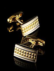 Luxury Shirt Cufflinks for Men's Brand Shirt Sleeve Cuff Buttons Gold Cuff links Gemelos Wedding Gifts Men Jewelry