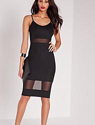 vestido del arnés de empalme de hilo neto de venta Amazon