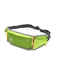 4L L Belt Pouch/Belt Bag Waterproof Rain-Proof Waterproof Zipper Green Red Purple Others