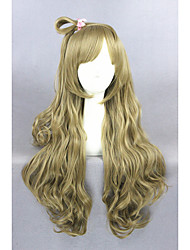 Long Wave Blonde Love Live Minami Kotori Synthetic 28inch Anime Cosplay WigCS-258A