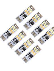 Brelong dimming usb 3w 6x5730 noite luz toque toque toque cor dupla luz (dc5v) 8pcs