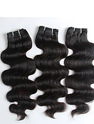 3 pieces/lot 100% Unprocessed Top Quality Body Wave Indian Hair, Top Grade Virgin Indian Hair