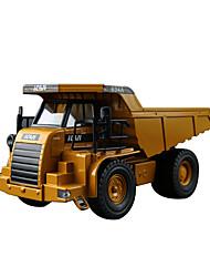 Camion Véhicules à Friction Arrière Jouets de voiture 1h50 Métal Plastique Jaune Petites Voitures