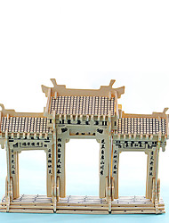 Jigsaw Puzzles 3D Puzzles Building Blocks DIY Toys Chinese Architecture 1 Model & Building Toy
