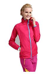 Жен. Куртка для туризма и прогулок Сохраняет тепло Быстровысыхающий Ультрафиолетовая устойчивость Дышащий Верхняя часть для Отдых и