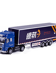 Construction Vehicle Pull Back Vehicles 1:50 Metal ABS Blue