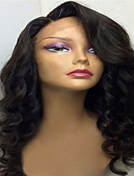 On Sale 8-26 Inch Indian Human Hair Lace Wigs Glueless Human Virgin Hair Full Lace Wigs With Baby Hair Body Wave For Black Women Lace Wigs