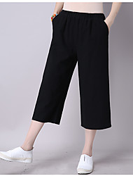 Signe 2017 été nouveau pantalon de coton sauvage pantalons larges pantalons larges pantalons pantalons décontractés