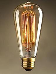 ST64 e27 25w Edison lumière art déco (220v)