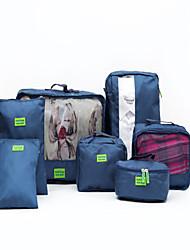 Luggage Organizer / Packing Organizer Portable Travel Storage for Portable Travel StorageRuby Green Blue
