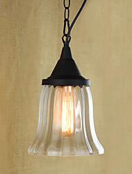Lampe suspendue ,  Rétro Batterie Rustique Peintures Fonctionnalité for Style mini Designers MétalSalle de séjour Chambre à coucher Salle