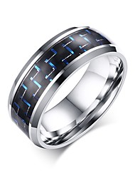 High Quality Carbon Fiber Stainless Steel Wedding Rings For Men Women Couple Ring Jewelry Lovers Best Gifts