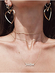 Серьги-слезки Мода Multi-Wear способы Euramerican Сплав В форме сердца Золотой Серебряный Розовое золото Бижутерия ДляДля вечеринок