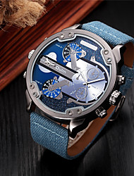 Men's Kids' Sport Watch Military Watch Dress Watch Fashion Watch Wrist watch Bracelet Watch Unique Creative Watch Calendar Dual Time Zones relogio