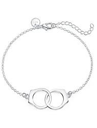 Femme Charmes pour Bracelets Mode Plaqué argent Argent Bijoux Pour 1pc