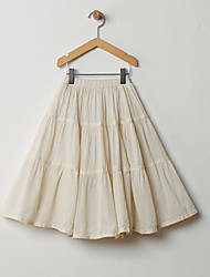 Girls' Casual/Daily Solid Skirt Summer